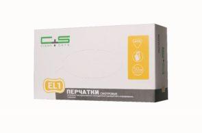 Перчатки EL1 латексные текстурированные «Clean+Safe»