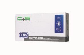 Перчатки EN4 нитриловые высокоэластичные «Clean+Safe»