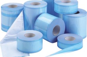 Рулоны комбинированные со складками для стерилизации